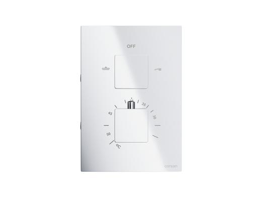 Concealed bathroom mixer Corsan CMT01 chrome