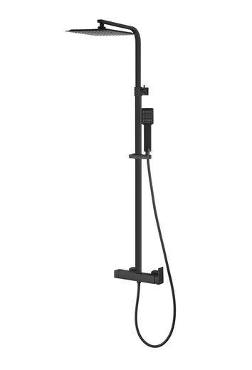Shower column Corsan Ango CMN024 black