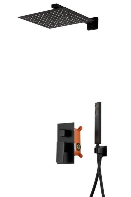Shower set Corsan Z01MBL black + BOX
