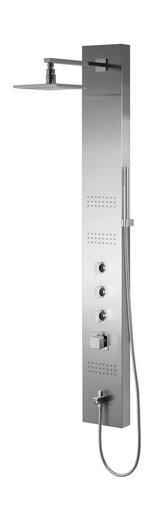 Panel prysznicowy Corsan Neo S060 z termostatem i wylewką