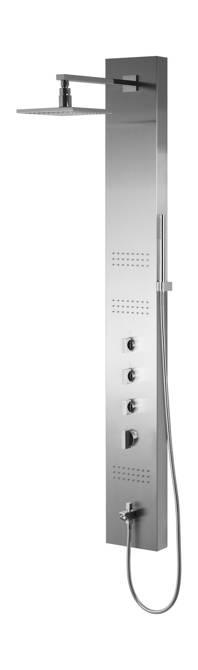 Panel prysznicowy Corsan Neo S060 z wylewką